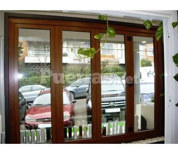 Puerta plegable pvc for Puertas pvc precios