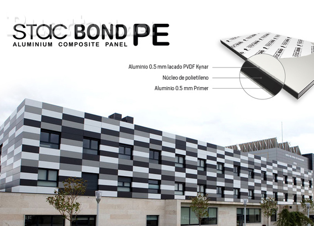 TITLE Panel composite STACBOND PE