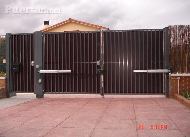 garaje madera chapa pvc: