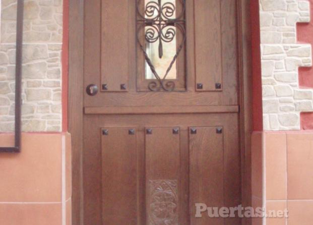 Puertas de madera asturias - Puertas exterior asturias ...