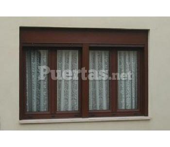 Persianas enrollables de aluminio con ventanas for Catalogo de puertas de aluminio
