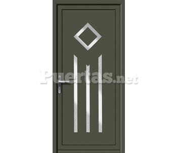 Puerta panel for Catalogo de puertas de aluminio