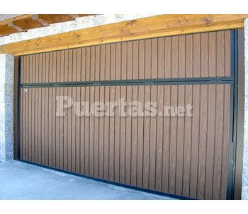 Atematik for Puertas imitacion madera exterior