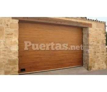 Puerta imitaci n madera for Puertas imitacion madera exterior