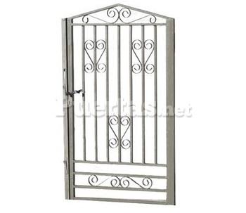 Puertas exteriores barcelona - Puertas de hierro para jardin ...