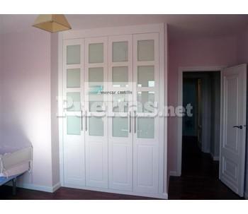 Armarios empotrados - Precios de puertas lacadas en blanco ...