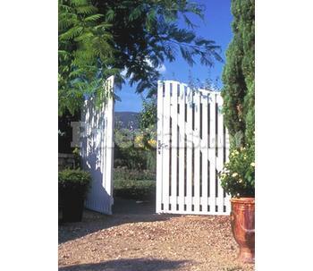 Puerta jardin for Puertas jardin aluminio
