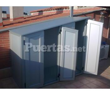 Armario aluminio exterior for Armario exterior