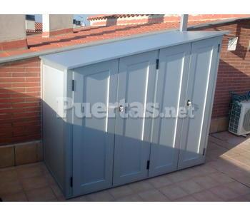 Armario aluminio exterior - Puerta exterior aluminio precio ...