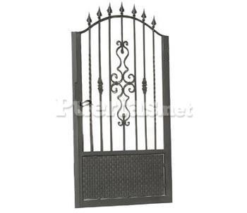 Puertas exteriores - Puertas de hierro para jardin ...