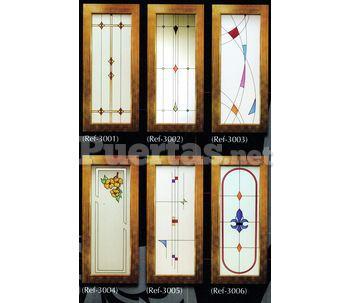 Cristales puertas interiores - Cristales decorados para puertas ...