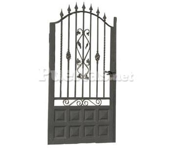 Puerta tur - Puertas de hierro para patios ...