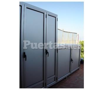 Armario exterior for Precio armario aluminio terraza
